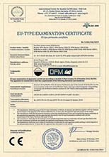DFM Marine CE Certificat