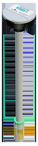 Wireless fuel level sensor DUT-E S7 with screen filter
