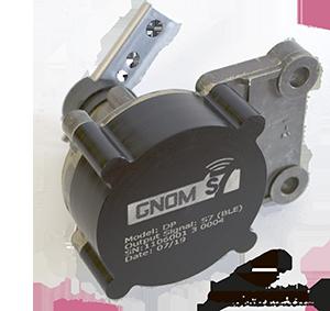 Wireless axle load sensor for leaf spring suspension GNOM DP S7