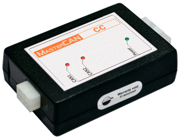 MasterCAN CC. CAN bus vehicle data convertion and transmition to fleet tracking systems