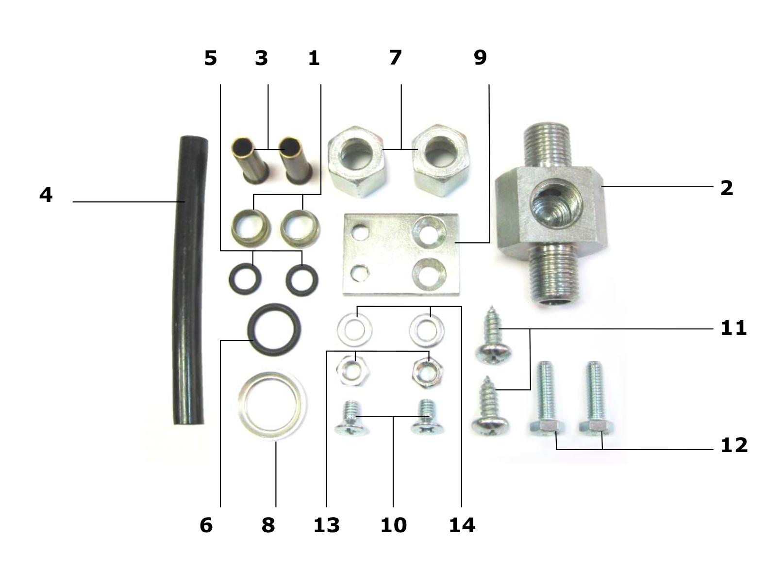 Kit de montaje GNOM MK DDE