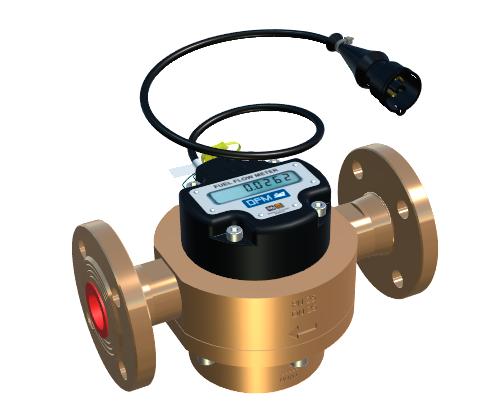 Расходомер топлива для тежелой техники