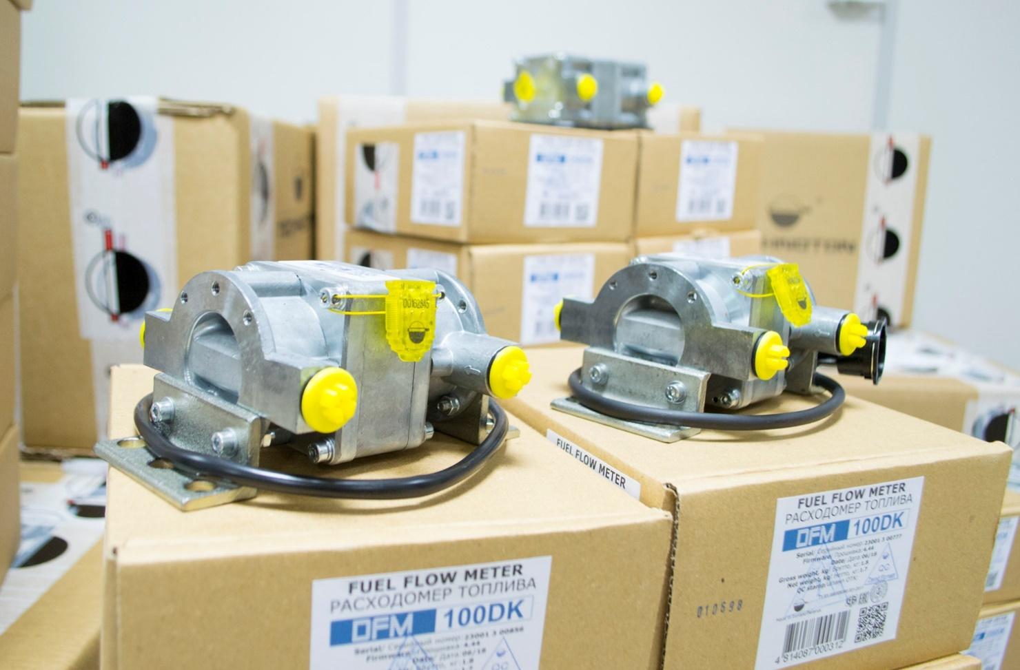 DFM 100 DK fuel flow meters