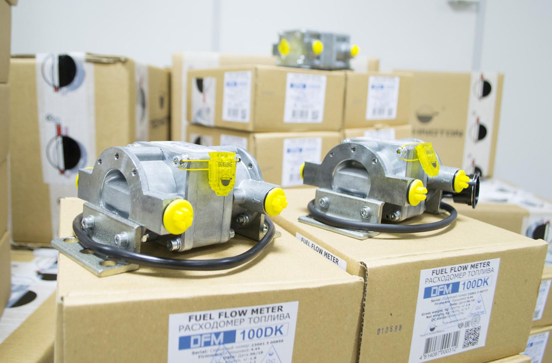 DFM 100 DK fuel flow meter