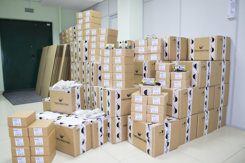 DFM at Technoton's warehouse