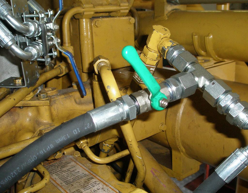 Подключение топливопроводов