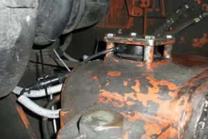 Защита датчика уровня топлива