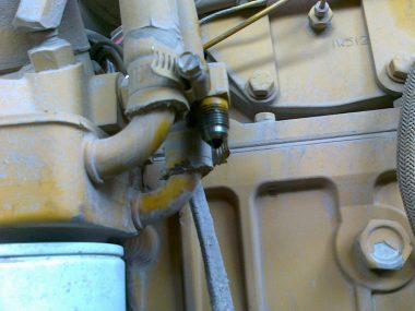 к установке расходомера топлива