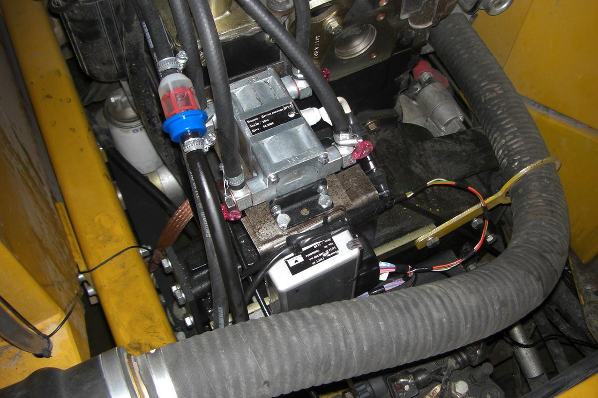 Расходомер DFM установлен на D'avino