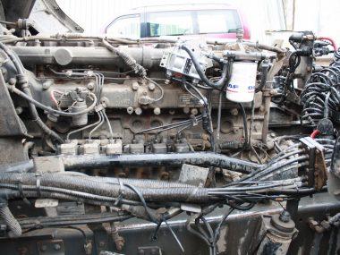 Расходомер установлен на колесный тягач и подключен