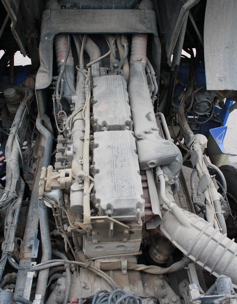 DAF 95xf подготовка к монтажу DFM