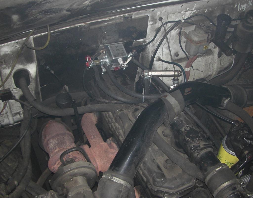 Расходомер топлива DFM подключен и работает
