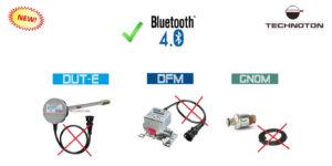Расходомер DFM, датчик уровня DUT-E, датчик нагрузки на ось GNOM - с интерфейсом BLE