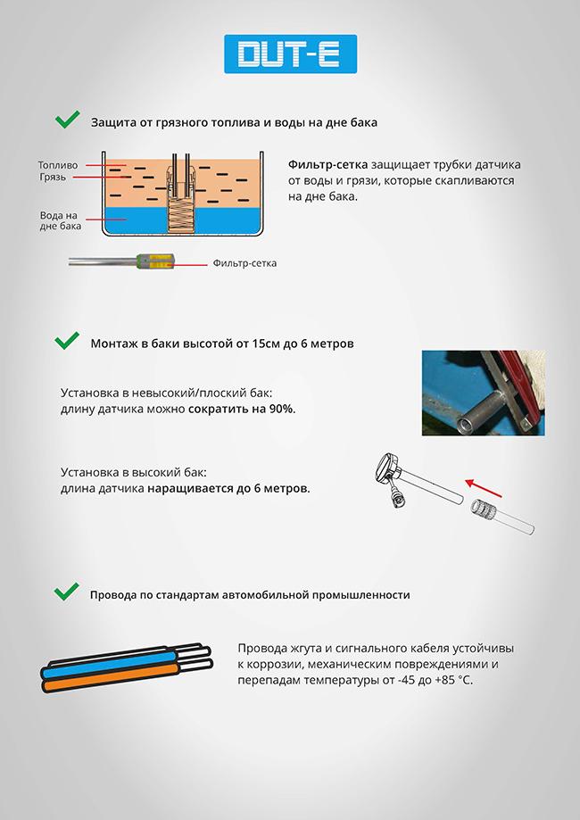 5 факторов выбора датчика уровня топлива