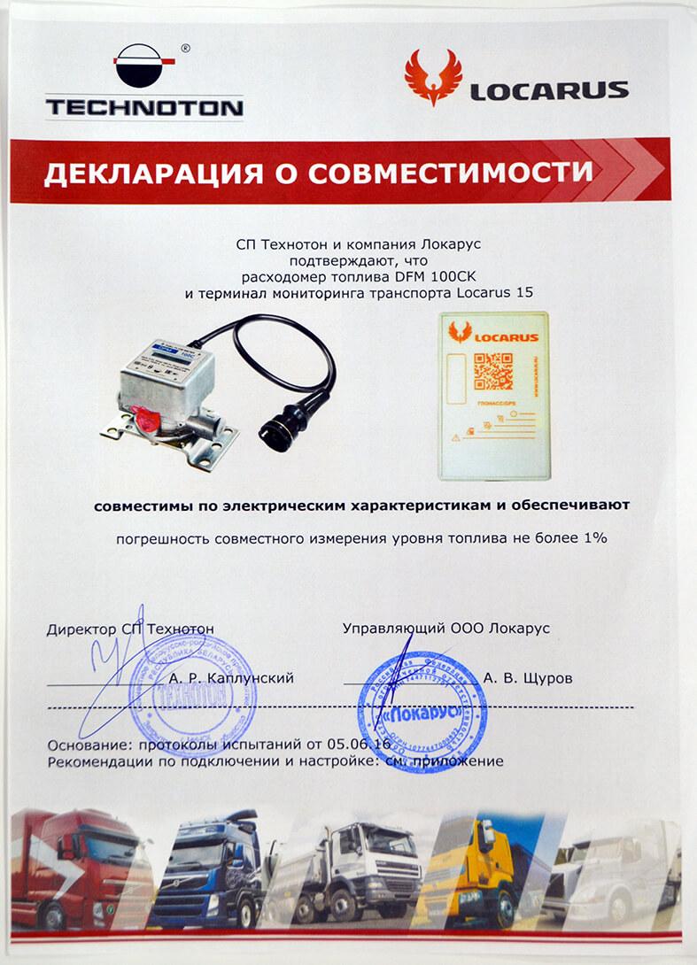 DFM AK, CK совместим с Locarus 15