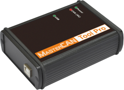 Imitador-analizador del bus CAN MasterCAN Tool