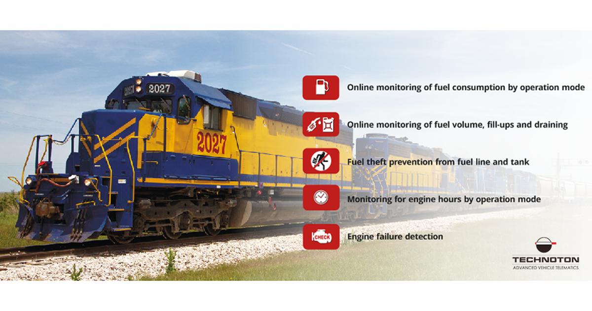 Railroad machinery monitoring