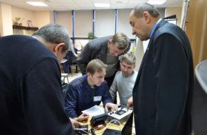 Тренинг по подключению телематического оборудования на семинаре Технотон