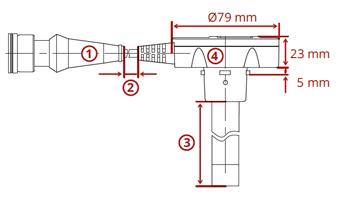 DUT-E overall size