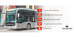 Bus monitoring system