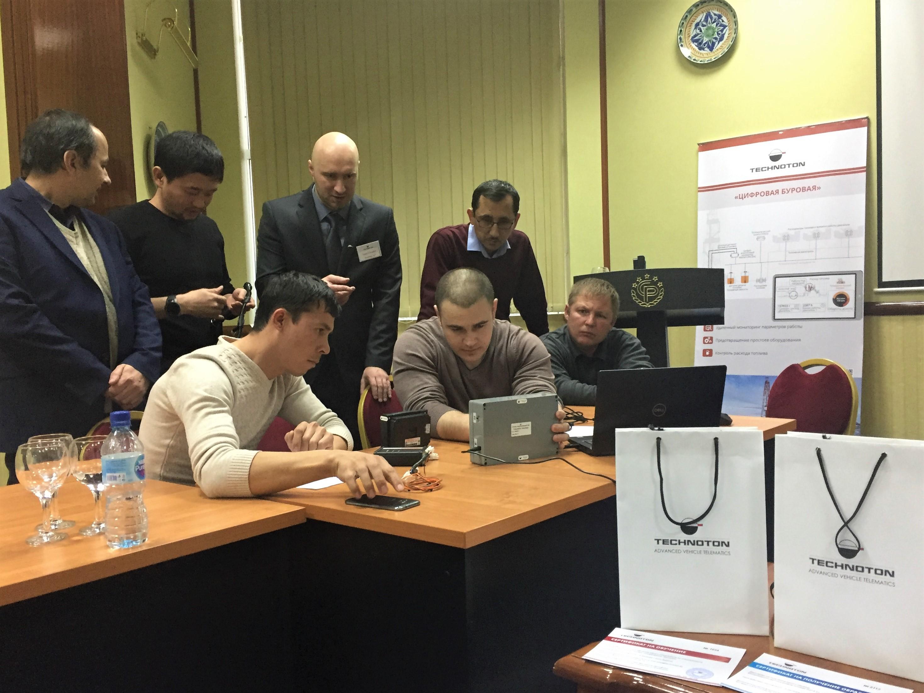 Семинары Технотон в Ташкенте и Астане