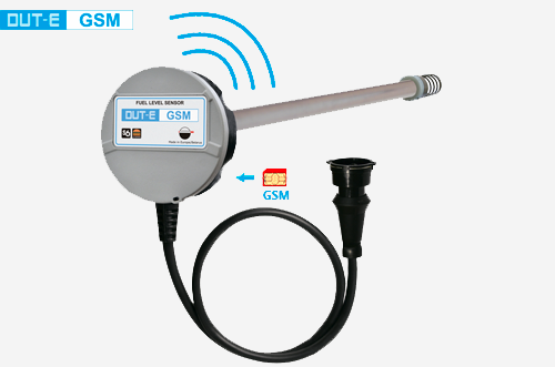 Fuel level sensor DUT-E GSM
