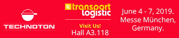 Technoton stand at transport logistic 2019