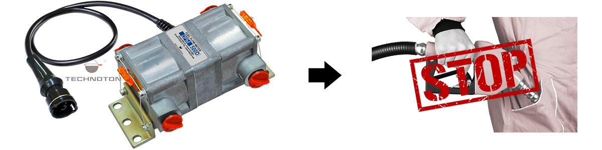 Prevent fuel theft using DFM flow meter