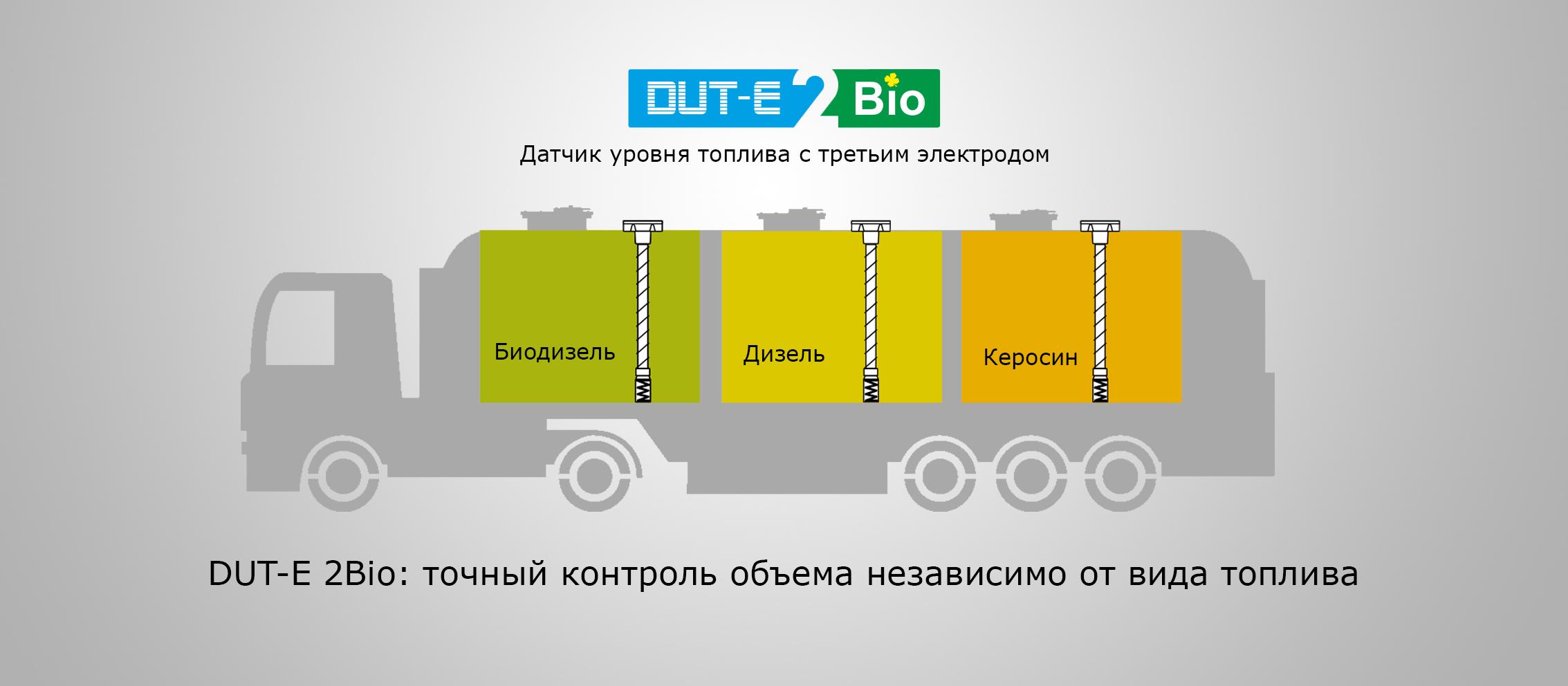 DUT-E 2Bio: точный контроль объёма независимо от вида топлива