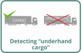 "Detecting ""underhand"" cargo"