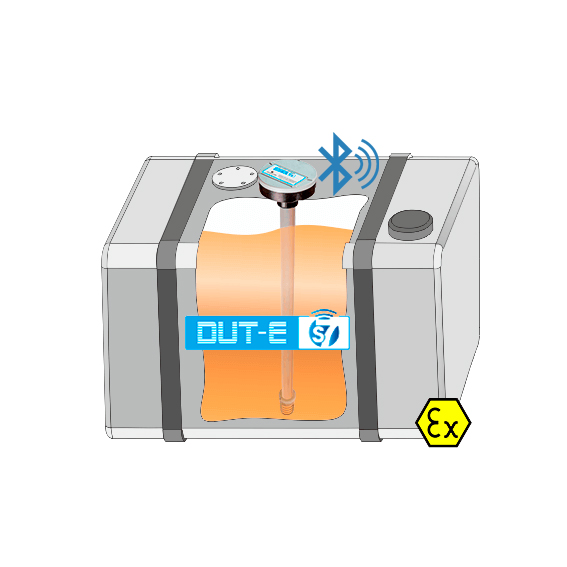 Innovative Wireless Fuel Level Sensor DUT-E S7 Now Is Available For Order!