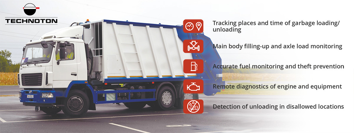 garbage truck monitoring