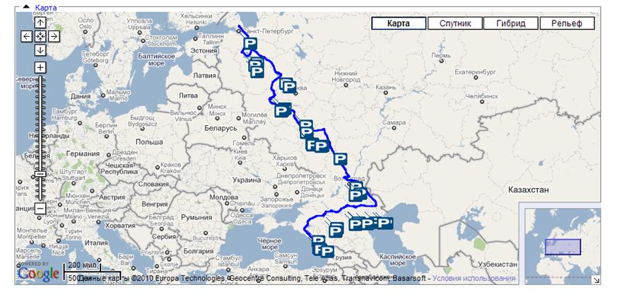Шелковый путь маршрут МАЗ