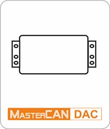 Convertidores digitales a analógicos MasterCAN DAC