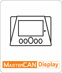 MasterCAN Display 35