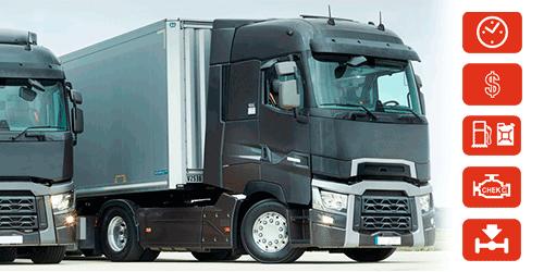 Monitoreo de camiones