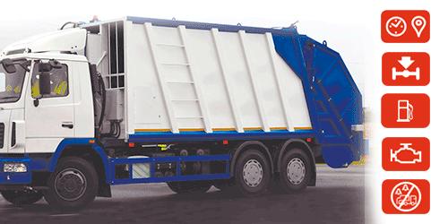 Monitoreo de camiones de basura