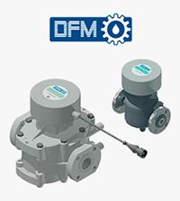 Medidor de flujo DFM Industrial