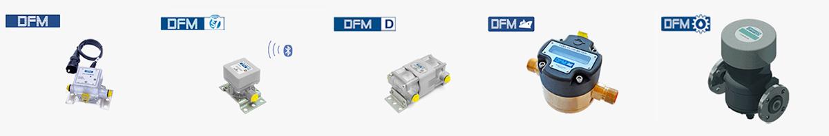Виды расходомеров DFM