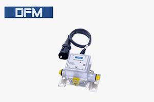 Single-chamber flow meter