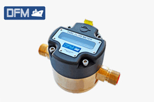 Flow meter for heavy machinery