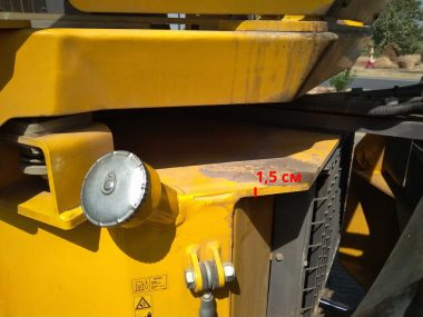 Fuel tank of a road roller
