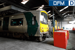 DFM 250D CAN на дизель-локомотив
