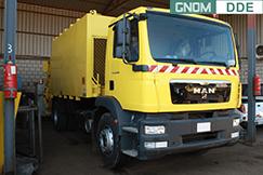 GNOM DDE на мусоровозе на базе MAN TGM