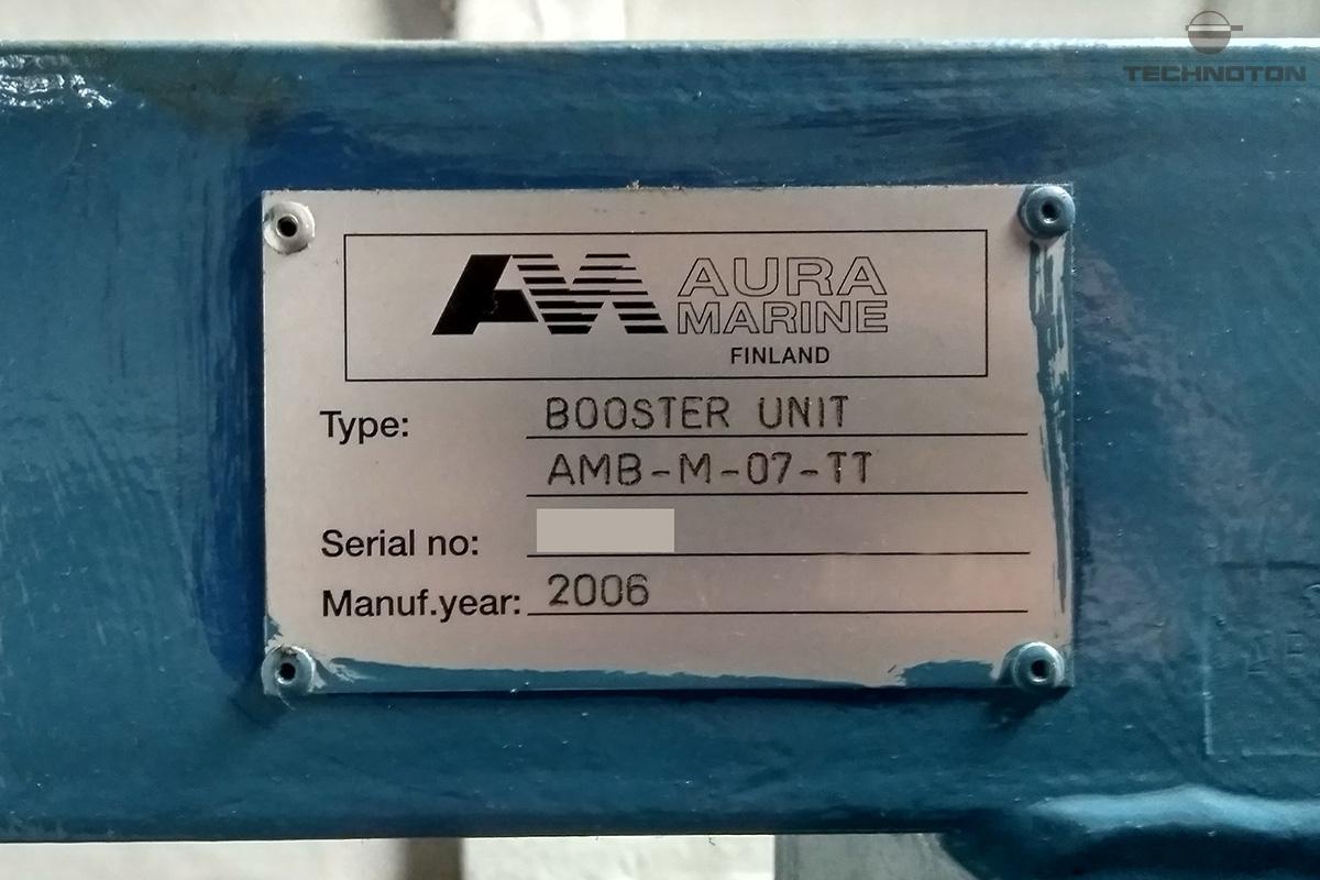Designación de la bomba de alta presión