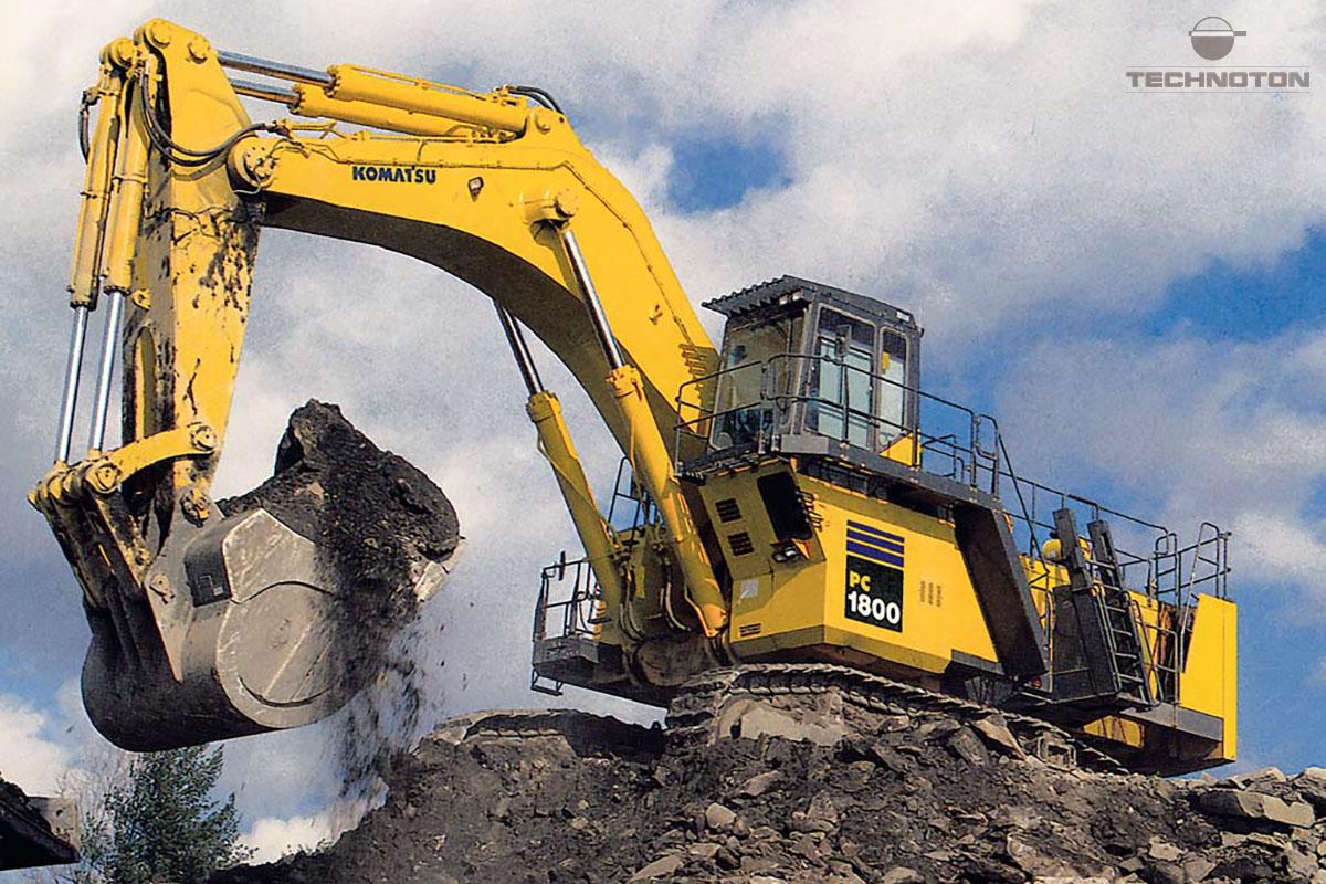 Excavadora hidráulica Komatsu PC 1800