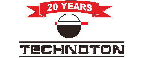logo Technoton 20 years
