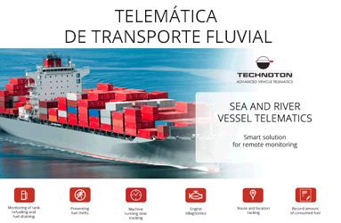 TELEMÁTICA DE TRANSPORTE FLUVIAL