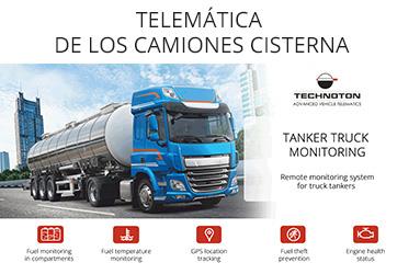 TELEMÁTICA DE LOS CAMIONES CISTERNA