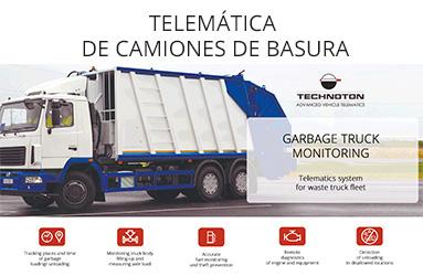 TELEMÁTICA DE CAMIONES DE BASURA